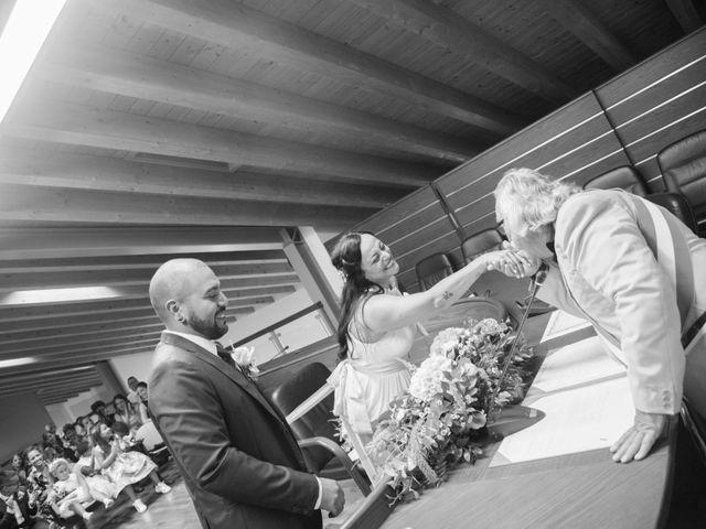 Il matrimonio di Gas e Sofie a Sirmione, Brescia 45
