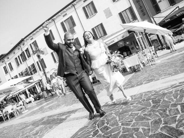 Il matrimonio di Gas e Sofie a Sirmione, Brescia 53