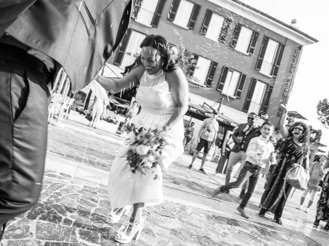 Il matrimonio di Gas e Sofie a Sirmione, Brescia 54
