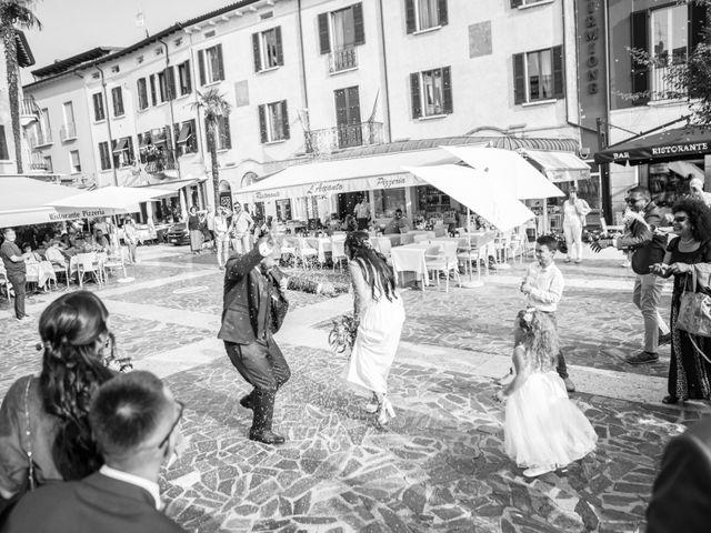 Il matrimonio di Gas e Sofie a Sirmione, Brescia 55