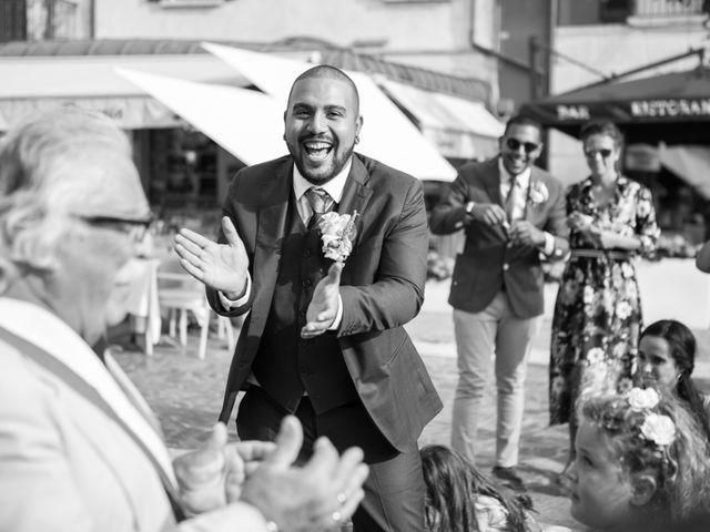 Il matrimonio di Gas e Sofie a Sirmione, Brescia 57