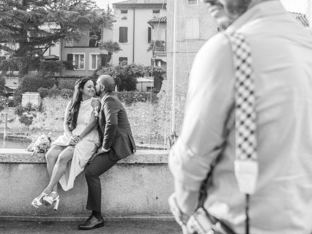 Il matrimonio di Gas e Sofie a Sirmione, Brescia 72