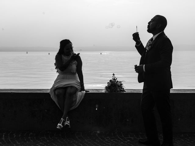 Il matrimonio di Gas e Sofie a Sirmione, Brescia 74