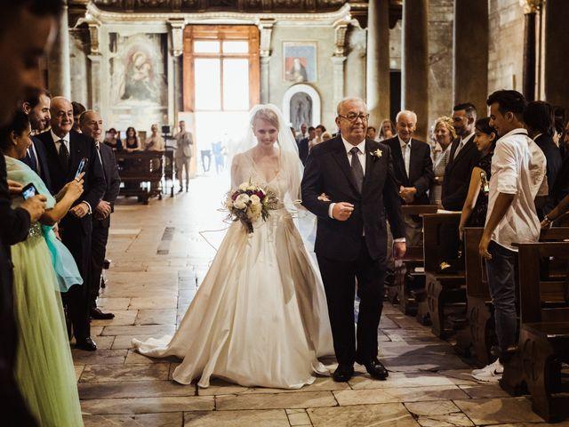 Il matrimonio di Alberto e Gemma a Lucca, Lucca 28
