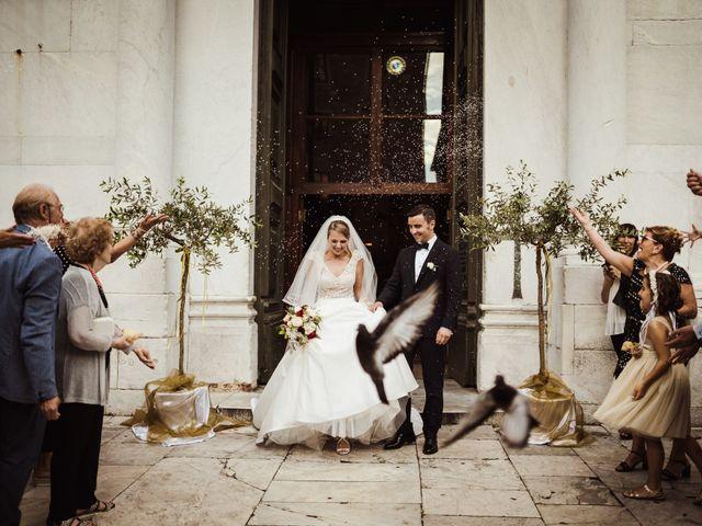 Il matrimonio di Alberto e Gemma a Lucca, Lucca 33