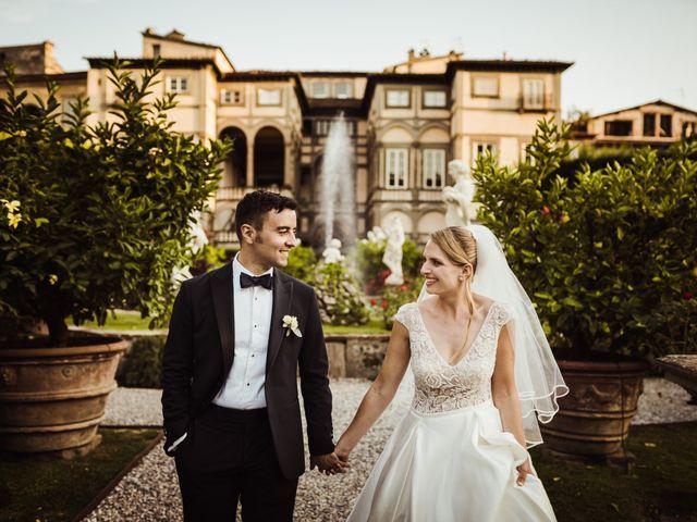 Il matrimonio di Alberto e Gemma a Lucca, Lucca 50