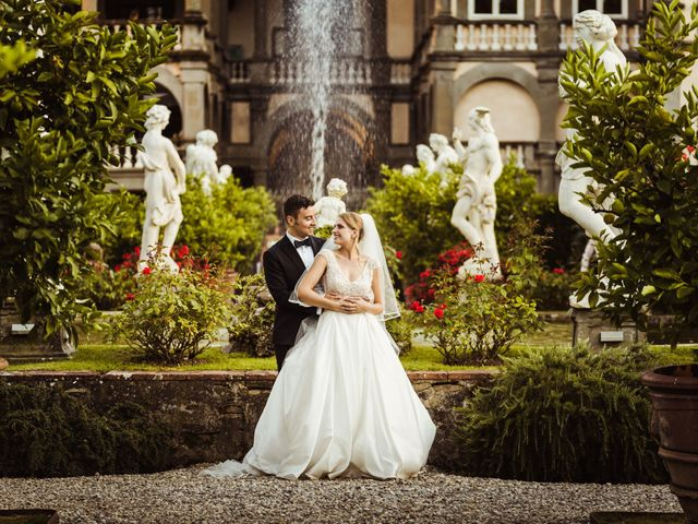 Il matrimonio di Alberto e Gemma a Lucca, Lucca 51