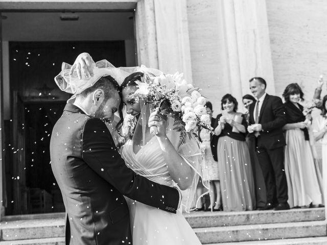 Le nozze di Giorgia e Federico