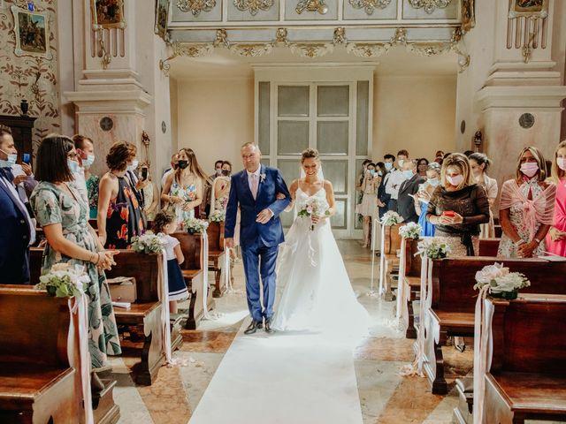 Il matrimonio di Simone e Elisa a San Martino Buon Albergo, Verona 14