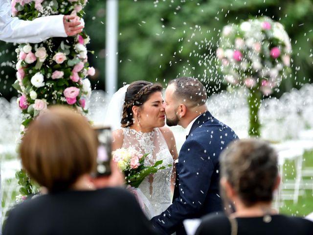 Le nozze di Massimo e Marika