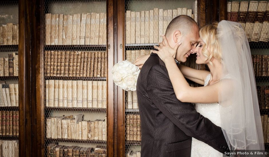 Il matrimonio di Emanuele e Olga a Offagna, Ancona