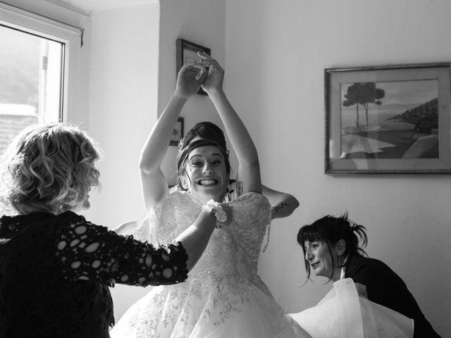 Il matrimonio di Mattia e Cristina a Pettenasco, Novara 5