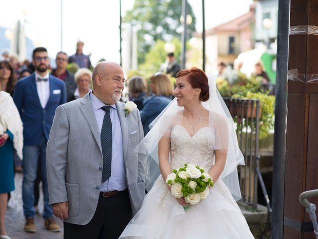Il matrimonio di Mattia e Cristina a Pettenasco, Novara 10