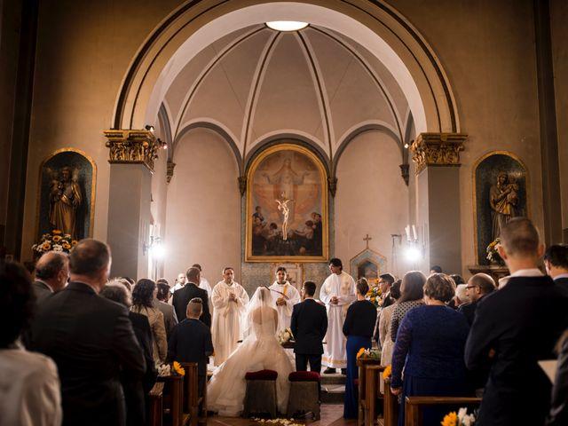 Il matrimonio di Mattia e Cristina a Pettenasco, Novara 14