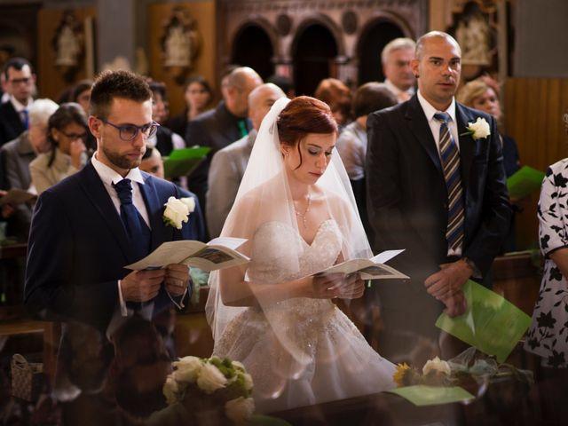 Il matrimonio di Mattia e Cristina a Pettenasco, Novara 16