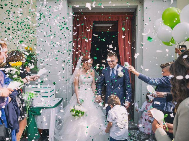 Il matrimonio di Mattia e Cristina a Pettenasco, Novara 21