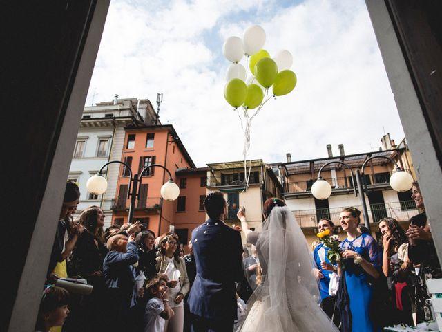 Il matrimonio di Mattia e Cristina a Pettenasco, Novara 22