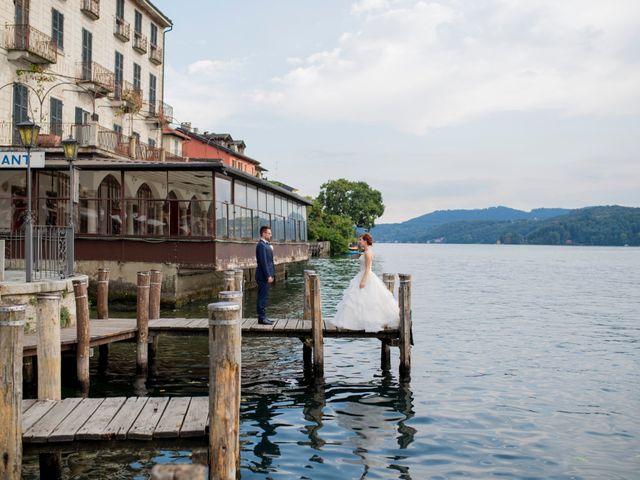 Il matrimonio di Mattia e Cristina a Pettenasco, Novara 36
