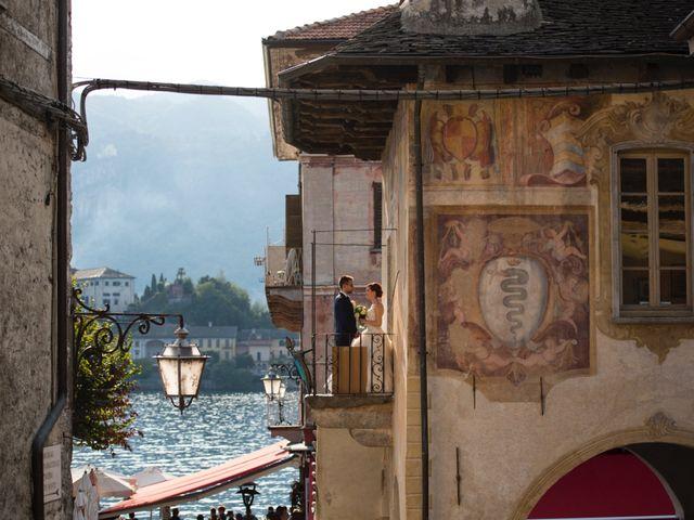 Il matrimonio di Mattia e Cristina a Pettenasco, Novara 37