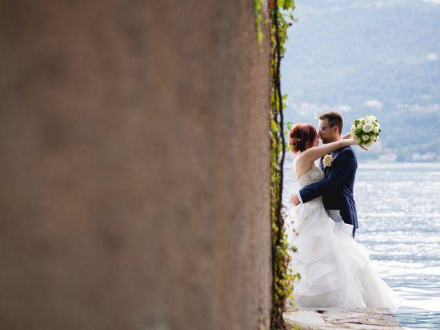 Il matrimonio di Mattia e Cristina a Pettenasco, Novara 38