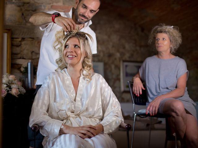 Il matrimonio di David e Giulia a Reggello, Firenze 1