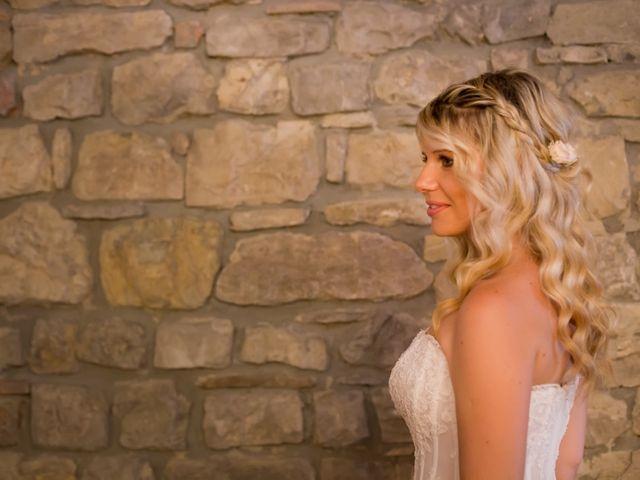 Il matrimonio di David e Giulia a Reggello, Firenze 2