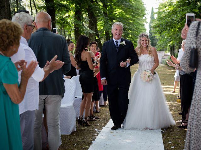 Il matrimonio di David e Giulia a Reggello, Firenze 4