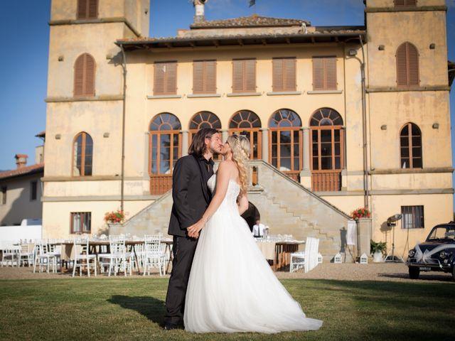 Il matrimonio di David e Giulia a Reggello, Firenze 10