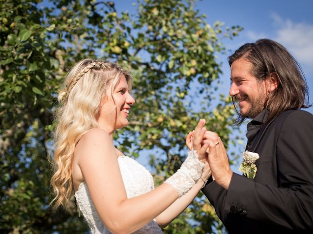 Il matrimonio di David e Giulia a Reggello, Firenze 12