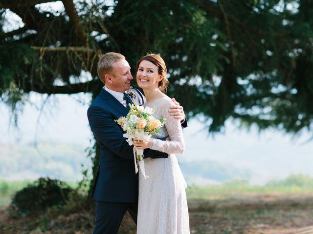 le nozze di Jiuli e Andrew