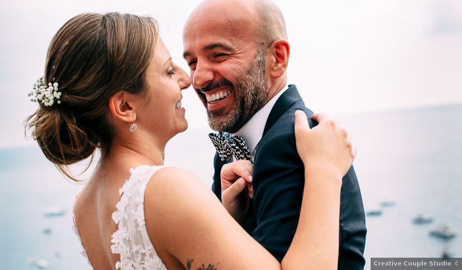 Il matrimonio di Stefano e Federica a Positano, Salerno