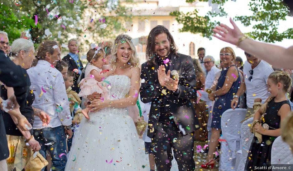 Il matrimonio di David e Giulia a Reggello, Firenze