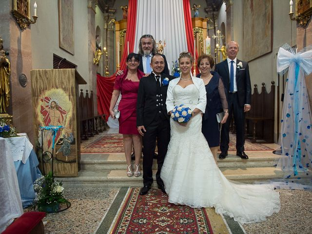 Il matrimonio di Andrea e Luisa a Torbole Casaglia, Brescia 75
