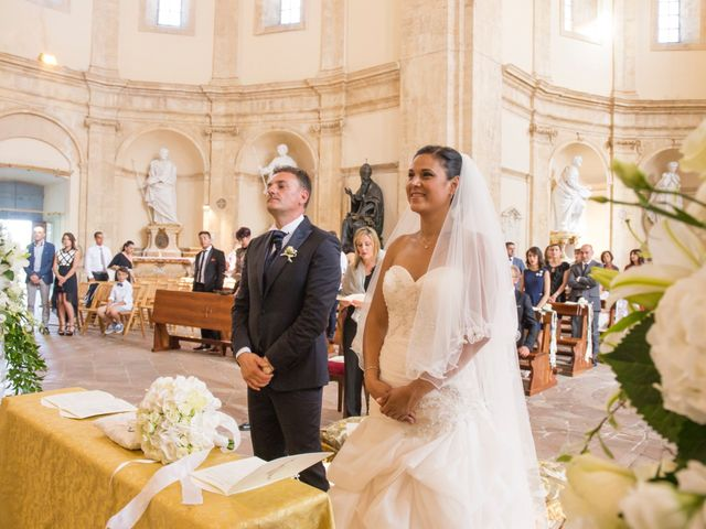 Il matrimonio di Francesco e Heidy a Todi, Perugia 27