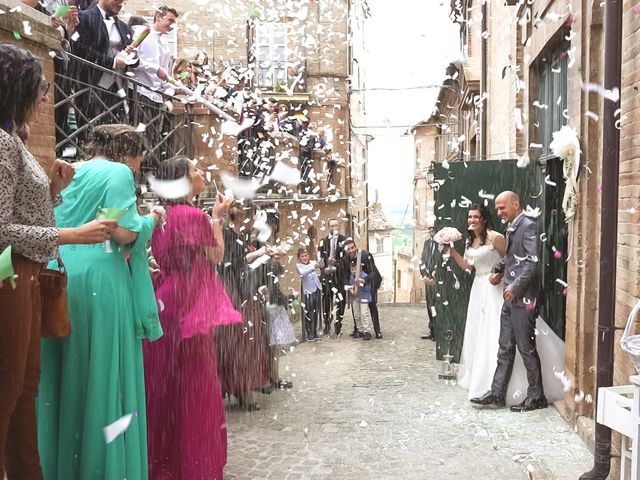 Il matrimonio di Antonio e Cosetta a Petritoli, Fermo 21
