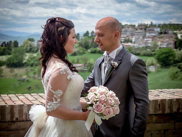 Il matrimonio di Antonio e Cosetta a Petritoli, Fermo 22