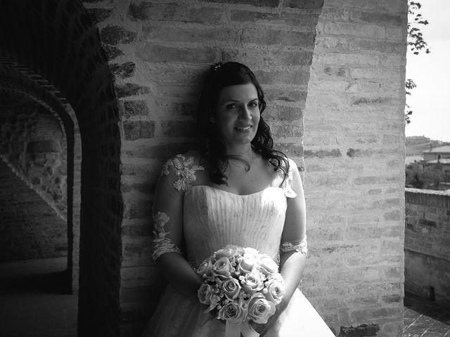Il matrimonio di Antonio e Cosetta a Petritoli, Fermo 24