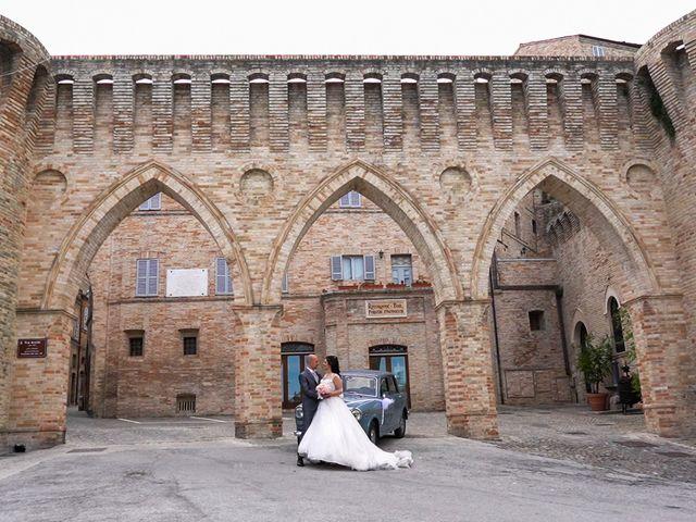 Il matrimonio di Antonio e Cosetta a Petritoli, Fermo 30