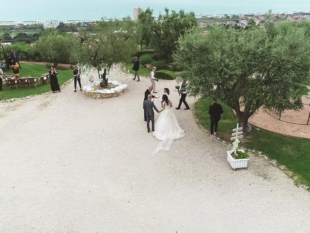 Il matrimonio di Antonio e Cosetta a Petritoli, Fermo 33