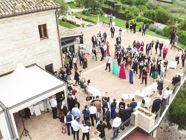 Il matrimonio di Antonio e Cosetta a Petritoli, Fermo 35