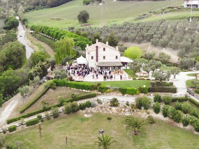Il matrimonio di Antonio e Cosetta a Petritoli, Fermo 37