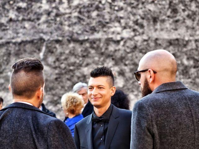Il matrimonio di Davide e Federica a Rodengo-Saiano, Brescia 19