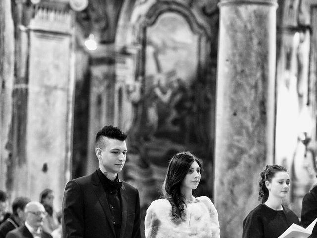 Il matrimonio di Davide e Federica a Rodengo-Saiano, Brescia 33
