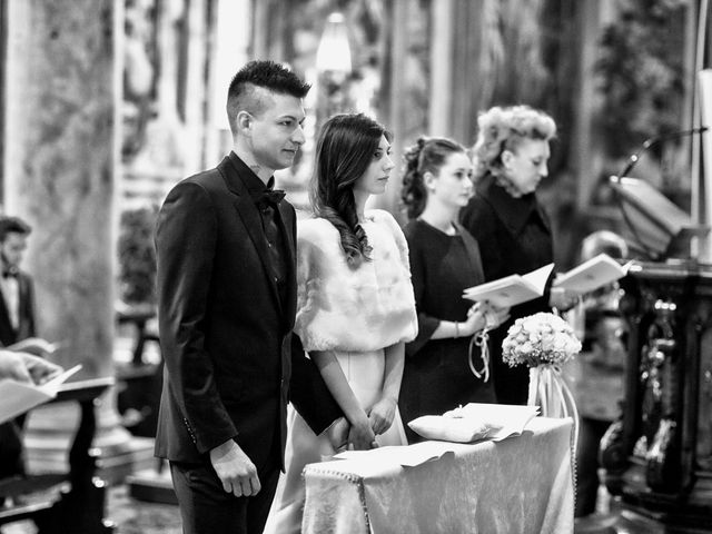 Il matrimonio di Davide e Federica a Rodengo-Saiano, Brescia 35