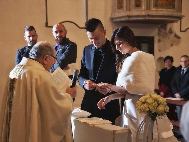 Il matrimonio di Davide e Federica a Rodengo-Saiano, Brescia 39