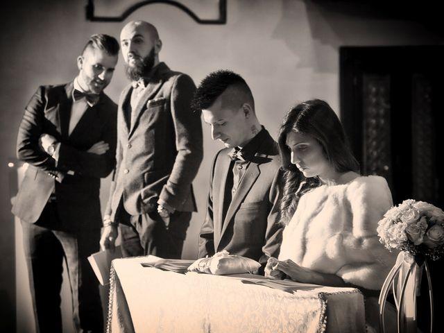 Il matrimonio di Davide e Federica a Rodengo-Saiano, Brescia 42