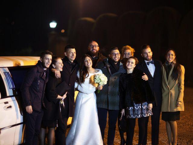Il matrimonio di Davide e Federica a Rodengo-Saiano, Brescia 61