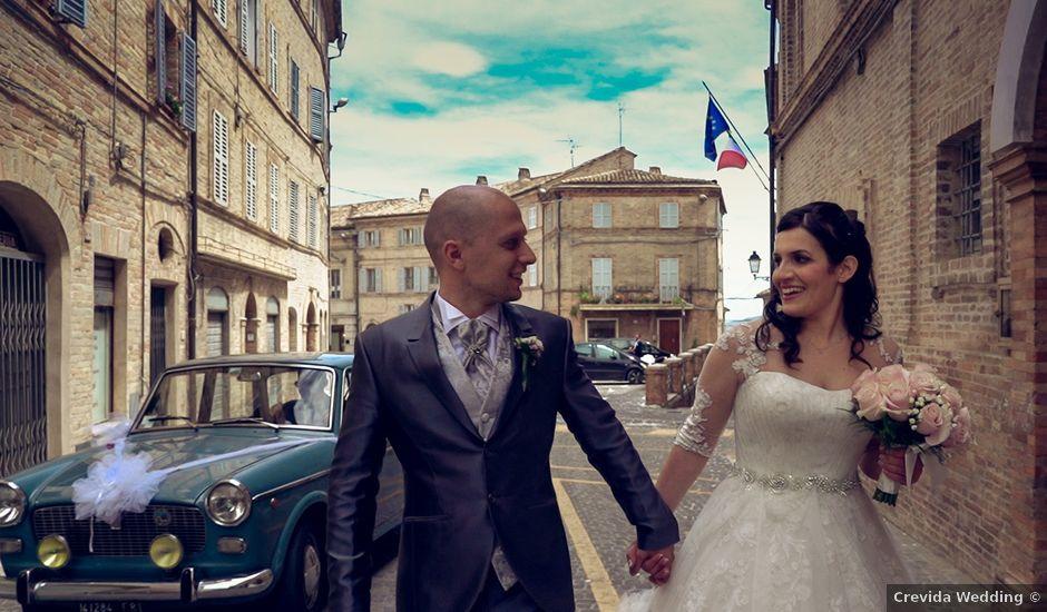 Il matrimonio di Antonio e Cosetta a Petritoli, Fermo