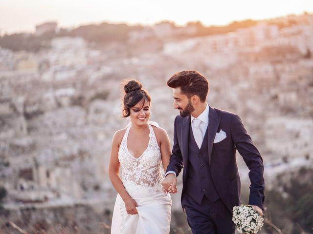 Il matrimonio di Vitalba e Mauro a Matera, Matera 14