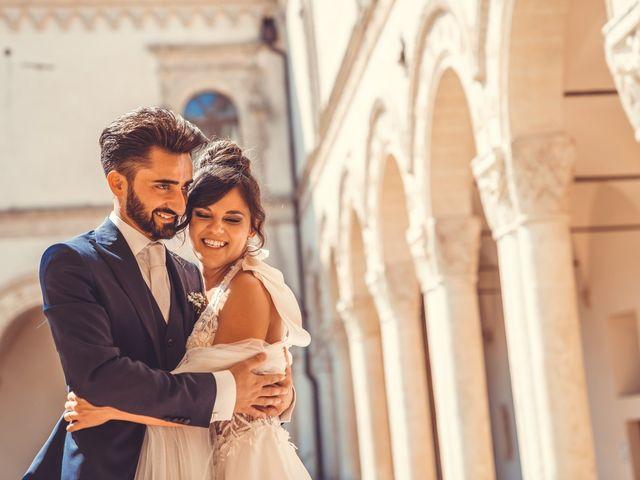 Il matrimonio di Vitalba e Mauro a Matera, Matera 31